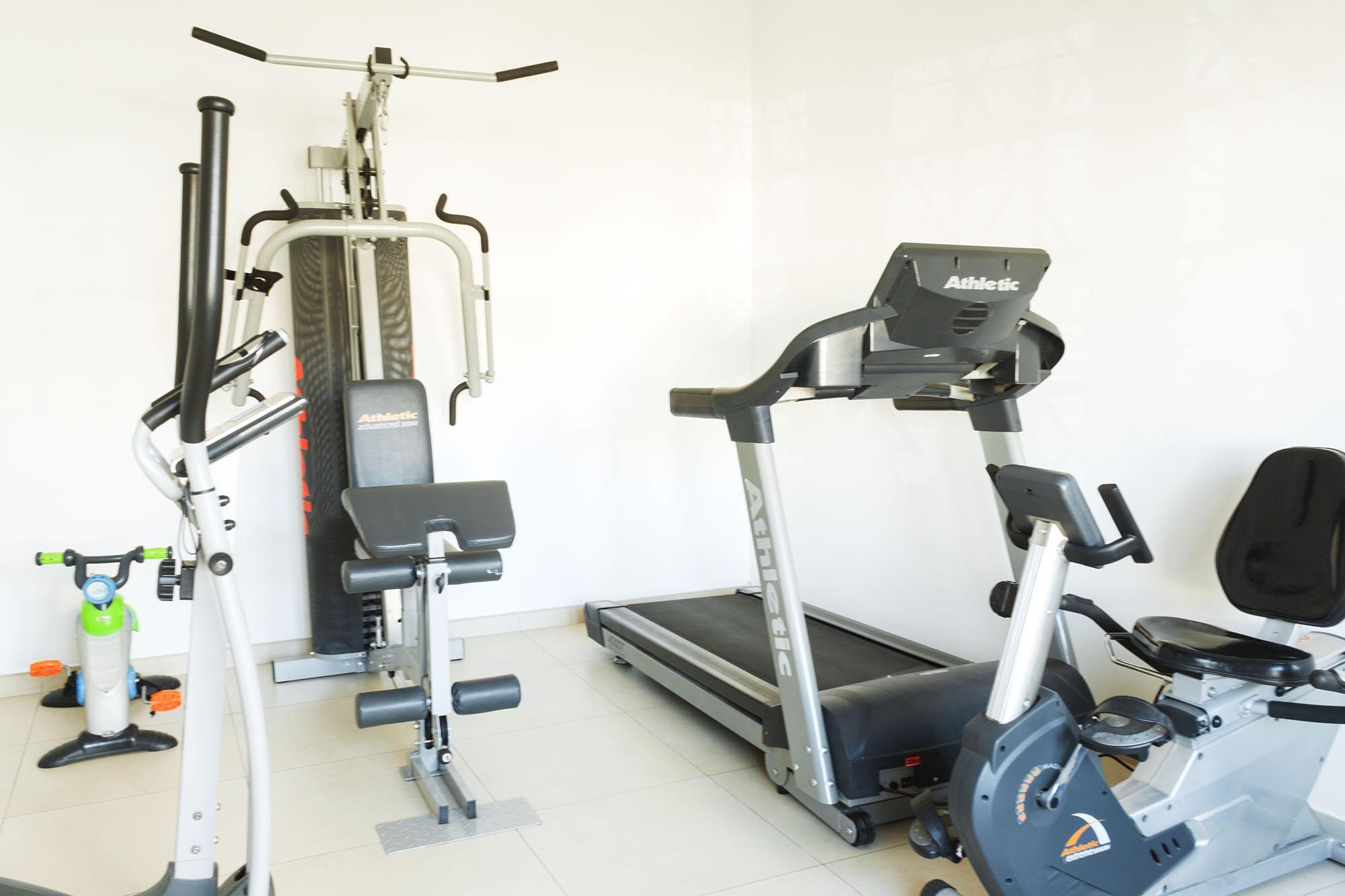 Sala de ejercicios. El Puente Terapéutico.